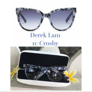 d7de385e39c1 Derek Lam Accessories - Derek Lamb Luxor Cat Eye Sunglasses